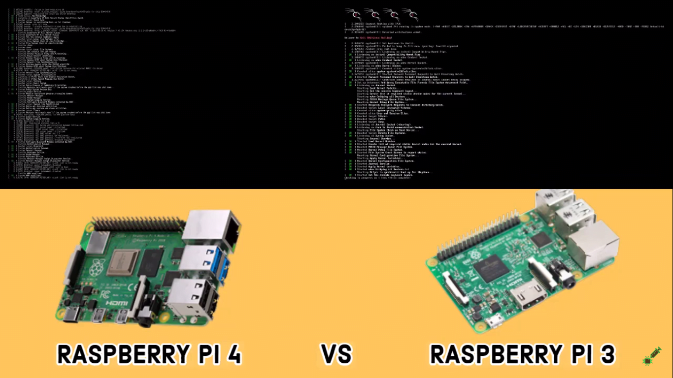 Raspberry Pi 4 vs Raspberry Pi 3: Which is Faster in Kali Linux Booting? – Own Snap