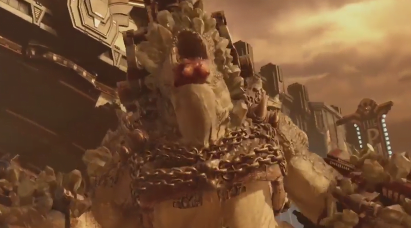 How to Beat Swarmak in Gears 5 - Shooting Gigantic Monster is Clever