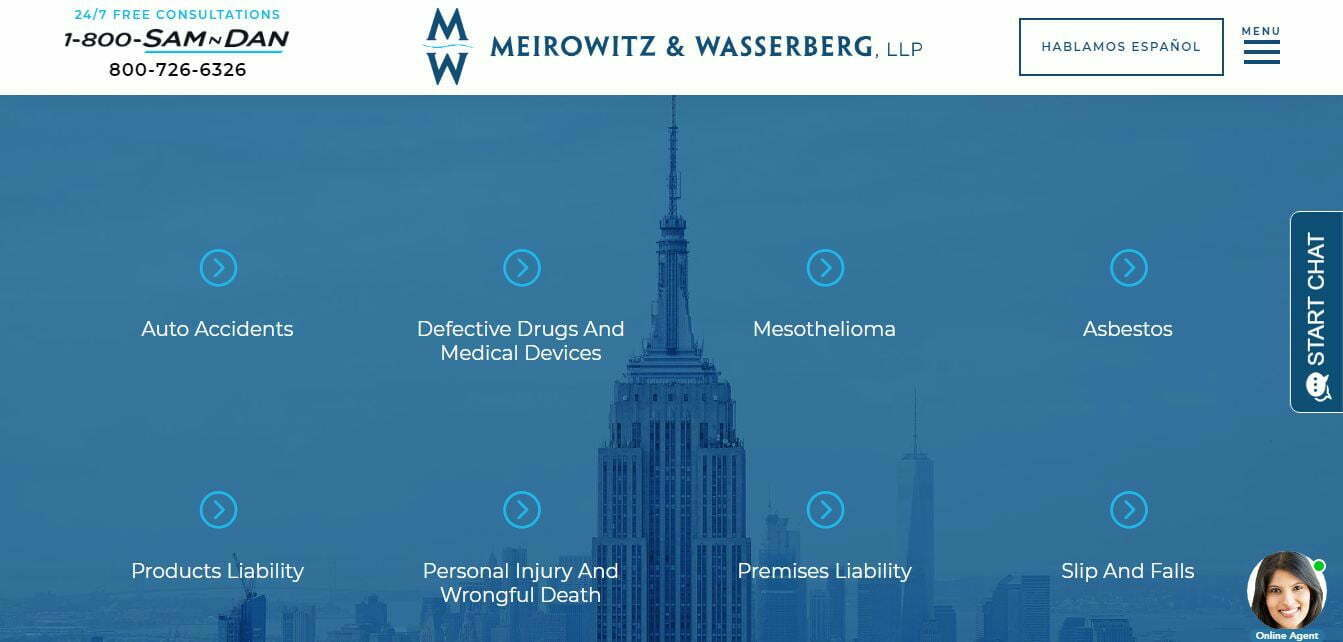 10 Mesothelioma Lawyers of New York According to Yelp